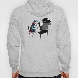 Piano lesson ( Doggy Art ) Hoody