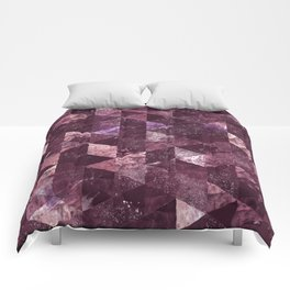 Abstract Geometric Background #24 Comforters