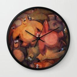 Bear Ball Wall Clock