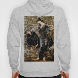 """Edward Burne-Jones """"Beguiling of Merlin"""" Hoody"""