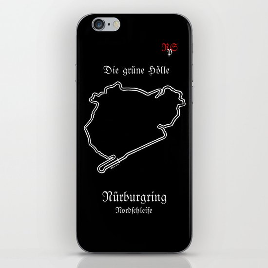 RennSport Shrine Series: Nürburgring Edition iPhone & iPod Skin