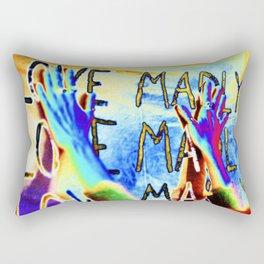 LOVE MADLY Rectangular Pillow