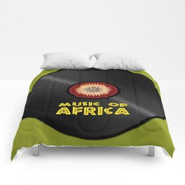 Vinyl record. Music of Africa Comforters