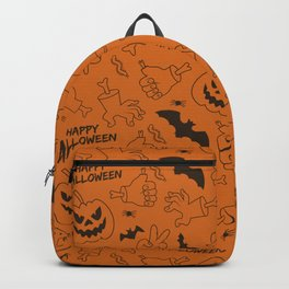 Happy Halloween Pattern Classic Backpack