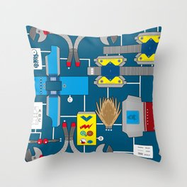 Papertoy Throw Pillow