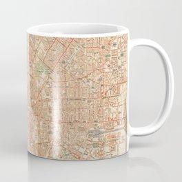 Vintage Map of Milan Italy (1943) Coffee Mug