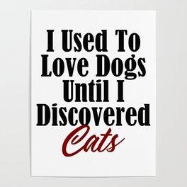 Funny Cat Dog Kitty Lover Meow Kitten Pet Whisperer Poster