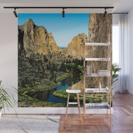 Rocks + River // Hiking Mountains Colorado Scenic View Landscape Photography Forest Backpacking Vibe Wall Mural