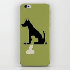 Gave a Dog a Bone (Green) iPhone & iPod Skin