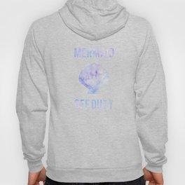 Mermaid Off Duty - Purple Seashell Hoody