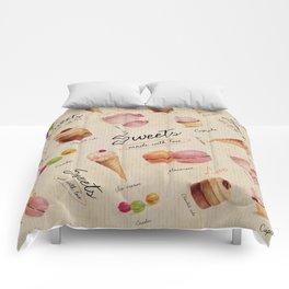 Sweets & Desserts Comforters