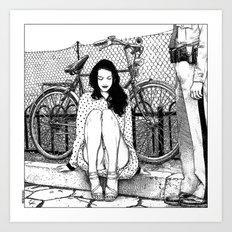 asc 592 - L'amende honorable (A satisfactory apology) Art Print