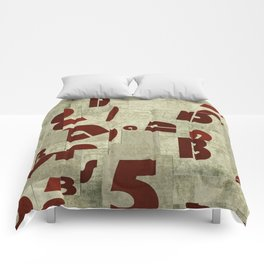 Absract Collage Comforters