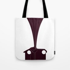 Silhouette Racers - Talbot Lago Teardrop Coupe Tote Bag