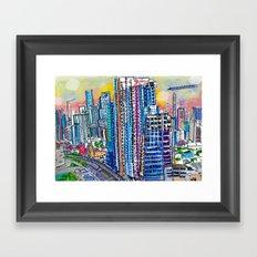 Miami  Framed Art Print