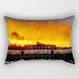 Bronx Sunset Rectangular Pillow