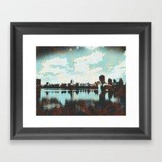 The Reservoir Framed Art Print