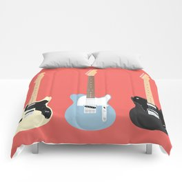 Flat Telecaster 5 Comforters