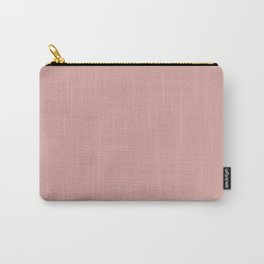 Rose Blush D9A6A1 Carry-All Pouch