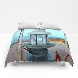 Point Prim Lighthouse View Comforters