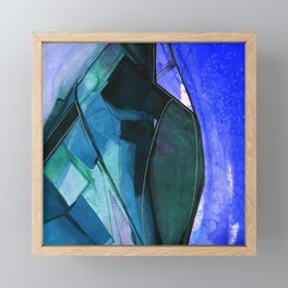 Abstraction 317I by Kathy Morton Stanion Framed Mini Art Print
