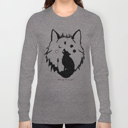 Which wolf will you feed? Long Sleeve T-shirt