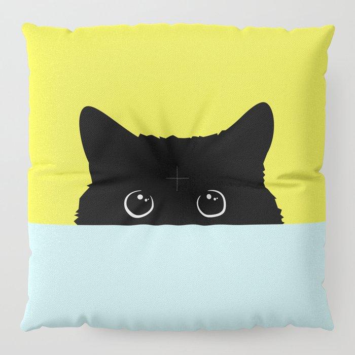 Kitty Floor Pillow