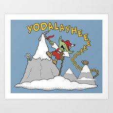 Master Yodel Art Print