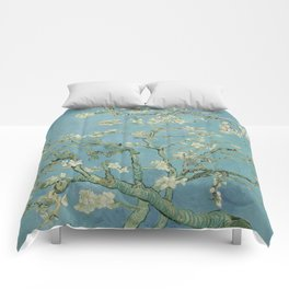Almond Blossoms Comforters