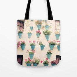 Flowerpots Tote Bag