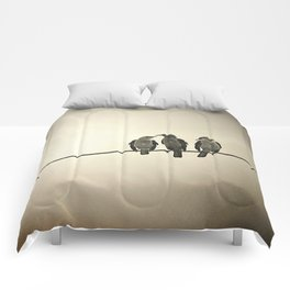 Three Little Birds Comforters