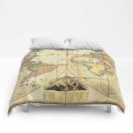 World Map (1826) Comforters