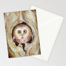 Owly Stationery Cards