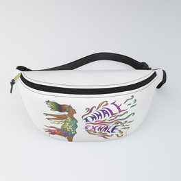 Curvy Goddesses Breathe Fanny Pack