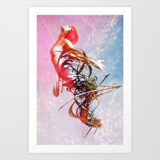 Giving Up The Ghost Art Print