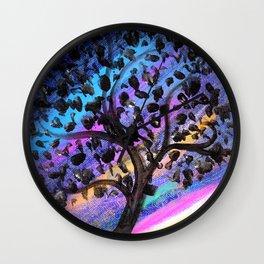 Aurora Tree Wall Clock