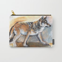 Totem Chinese Tibetan Wolf Carry-All Pouch