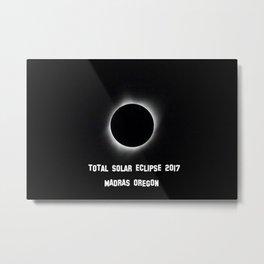 Total Solar Eclipse 2017 Metal Print