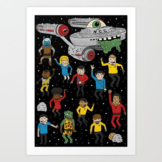 Star Trek The Reanimated Series Art Print