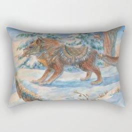 Wild Beast Rectangular Pillow