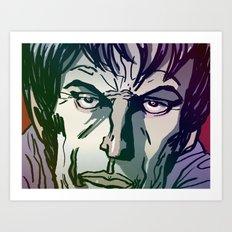 MaloFace Art Print