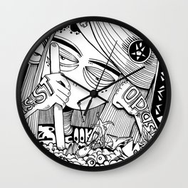 can't cook Wall Clock