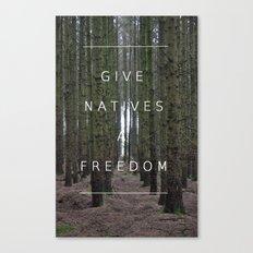 Native Freedom Canvas Print