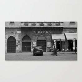Perugian Theater Canvas Print