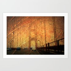 Golden Gate Bridge Art Print