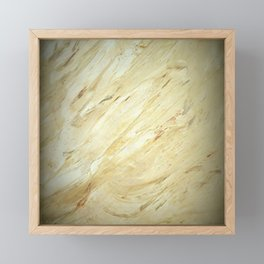Old World Marble II - Corbin Henry Faux Finishes - Luxury Marble Framed Mini Art Print