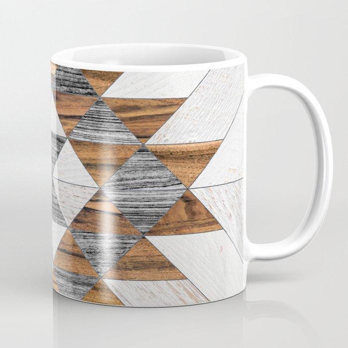 Urban Tribal Pattern No.12 - Aztec - Wood Coffee Mug