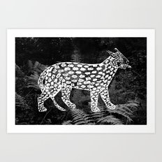 Forest Panther Art Print