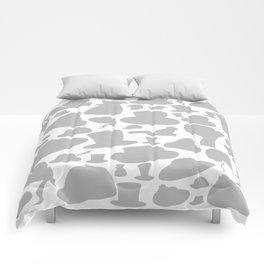 Cap a background Comforters