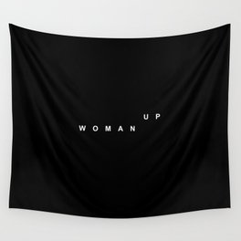 WOMAN UP Wall Tapestry